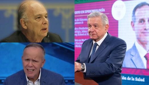 AMLO defiende a López Gatell y se lanza contra Krauze y Ciro