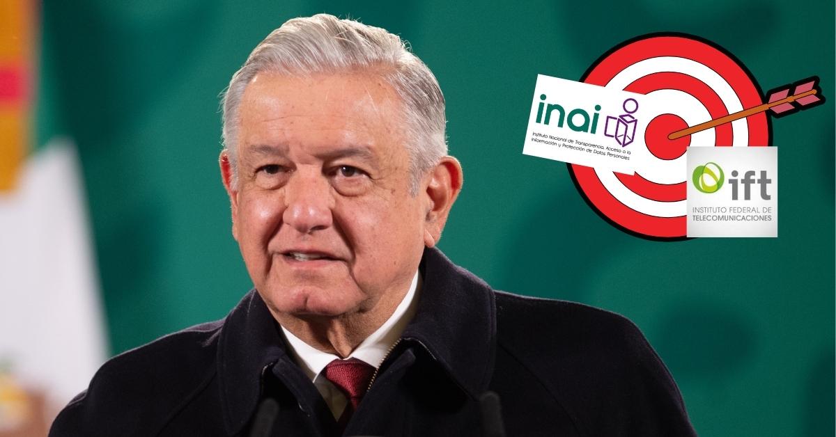 AMLO: entes autónomos, tapadera de actos ilícitos - Política