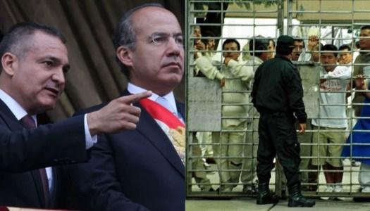 Calderón y García Luna hincharon de billetes a constructores de cárceles