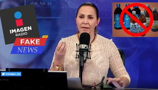 Imagen y sus Fake News: alientan a la población a tomar dióxido de cloro