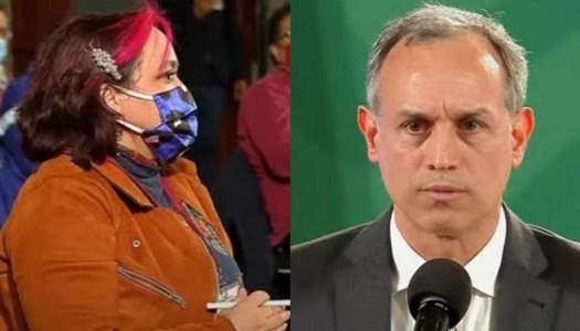 López-Gatell explica foto en Zipolite y reportera de Milenio estalla