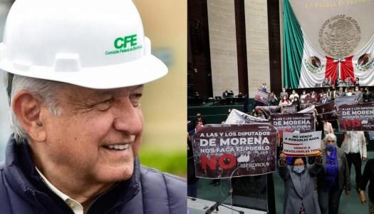 Diputados aprueban reforma de AMLO para recuperar la soberanía eléctrica
