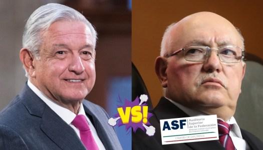 AMLO va contra la ASF del priista Colmenares por informe falso y tendencioso