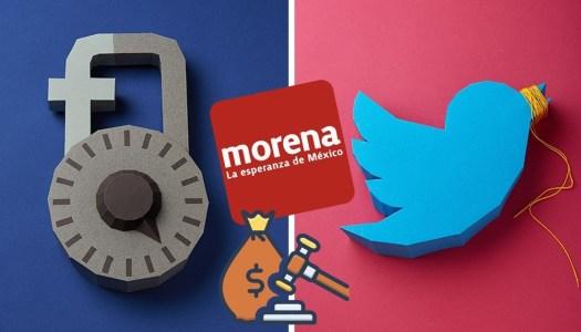 Morena propone multas de 4.4 millones de dólares para las redes que censuren
