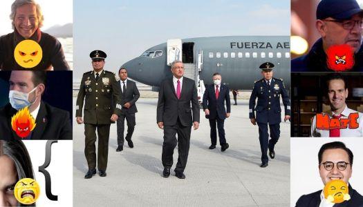 Así estalló la oposición al ver a AMLO inaugurar obras en Santa Lucía
