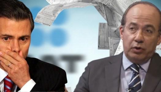 Calderón y EPN condonaron más de 413 mil millones de pesos