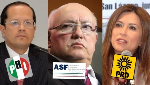 Fichitas del PRI y PRD mandan en la Auditoría Superior de la Federación