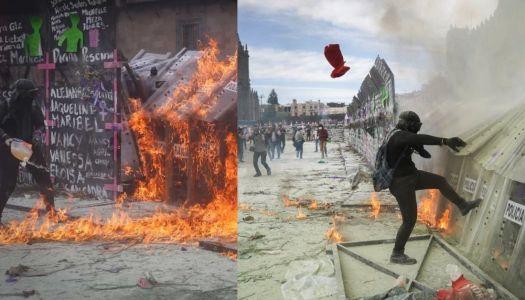 La derecha quería represión para atacar a AMLO; fallaron de nuevo