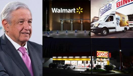 AMLO: mexicanos pagan 4 veces más de luz que Walmart, Oxxo y Bimbo