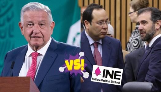 AMLO se lanza contra el INE por volverse un supremo poder conservador
