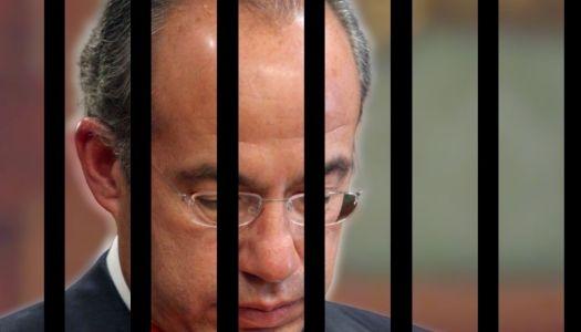 ¿Ya le toca a Felipe Calderón? Lo denuncian por traición a la patria
