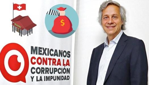 Claudio X. González esconde dinero en bancos de Suiza