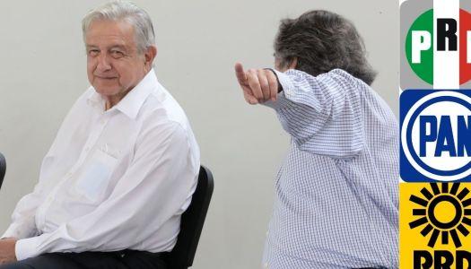 """¿Así que la propuesta de la oposición es que """"AMLO es un dictador""""?"""