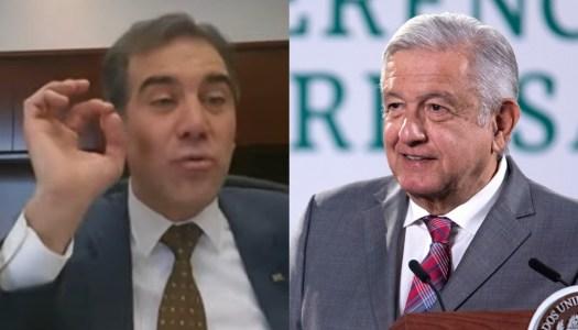 INE vuelve a la carga contra AMLO; amenaza con arrestarlo