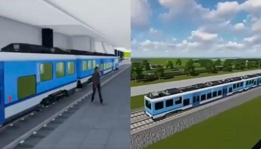 Proyecto del Tren que conectará CDMX y Santa Lucía va muy avanzado