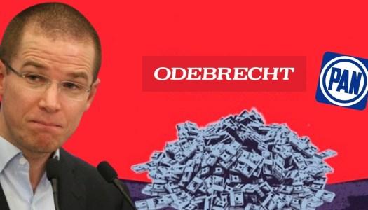 Anaya y más panistas, los próximos en caer por sobornos de Odebrecht