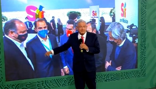 AMLO vuelve a exigir a EU dejar de financiar a ONG de Claudio X. Gonzalez