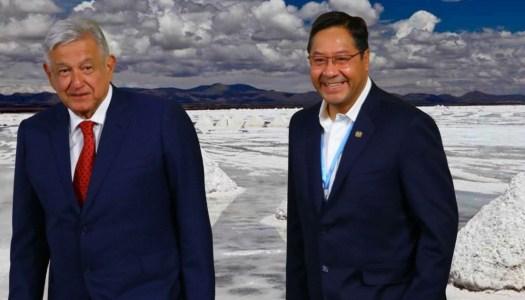 Bolivia asesora al gobierno de AMLO en la explotación del litio