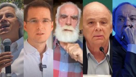 Anaya, Cevallos y abajofirmantes del PRIAN llaman a no votar por Morena