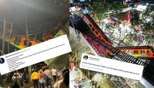 Gente sin escrúpulos: la oposición y el uso electoral de tragedia en el Metro