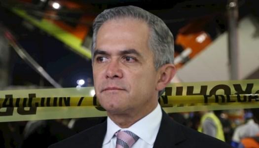 """Mancera garantizaba la """"seguridad"""" de la Línea 12… y pasó el accidente"""