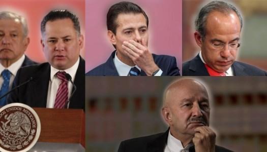 UIF ya investigó las cuentas de Peña Nieto, Calderón y Salinas