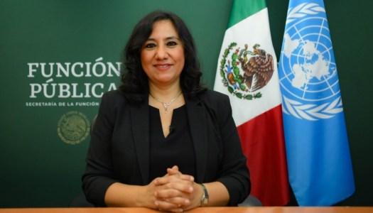 Irma Eréndira Sandoval sale de la Función Pública