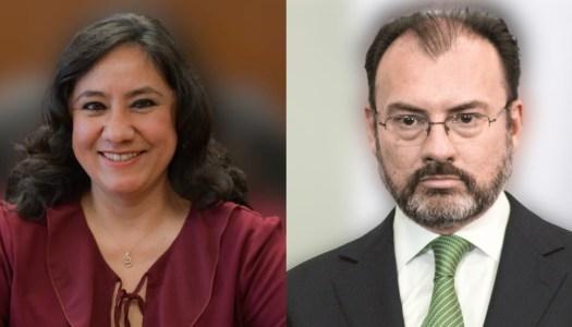SFP de Irma Eréndira inhabilita por corrupto a Videgaray durante 10 años