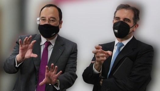 Morena quiere juicio político para Lorenzo Córdova y Ciro Murayama