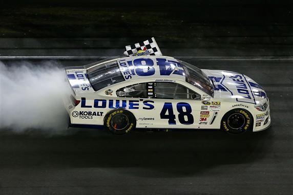 Johnson Sweeps Daytona