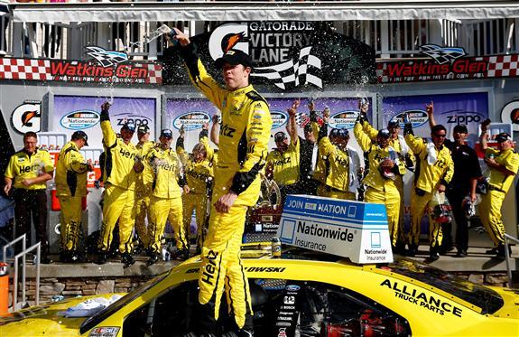 Keselowski wins at Watkins Glen