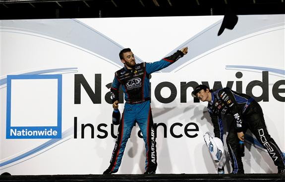 Nationwide   Austin Dillon Claims Title