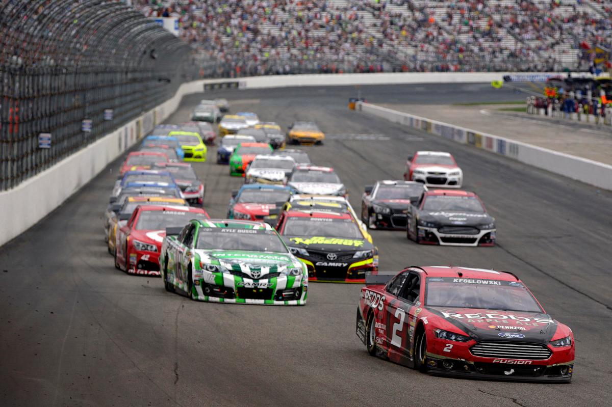 at New Hampshire Motor Speedway in Loudon, New Hampshire on July 13, 2014.Gayle Martens/CIA