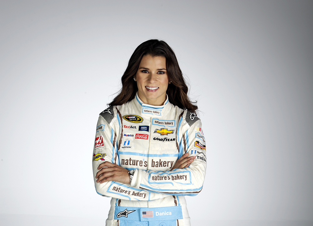 October 21, 2015: Danica Patrick Nature's Bakery shoot at HammerHead Studio in Mooresville NC. (HHP/Harold Hinson)