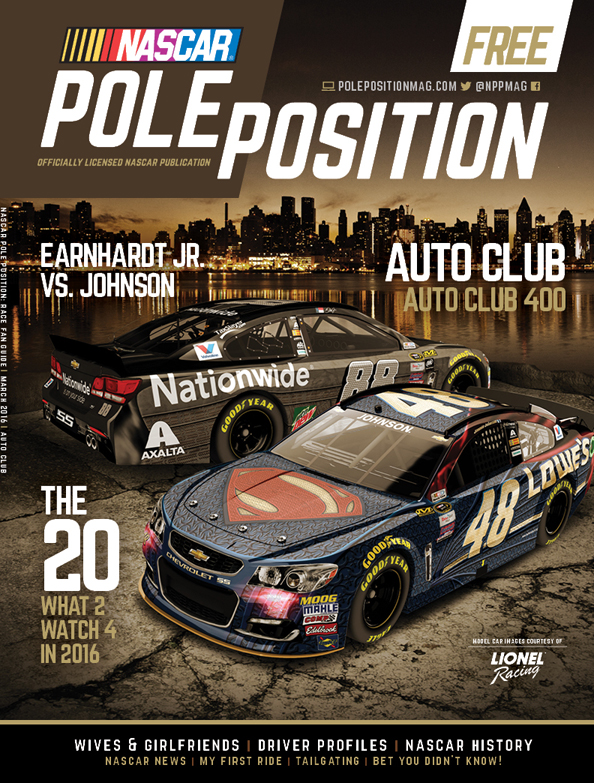 NASCAR Pole Position Auto Club March 2016