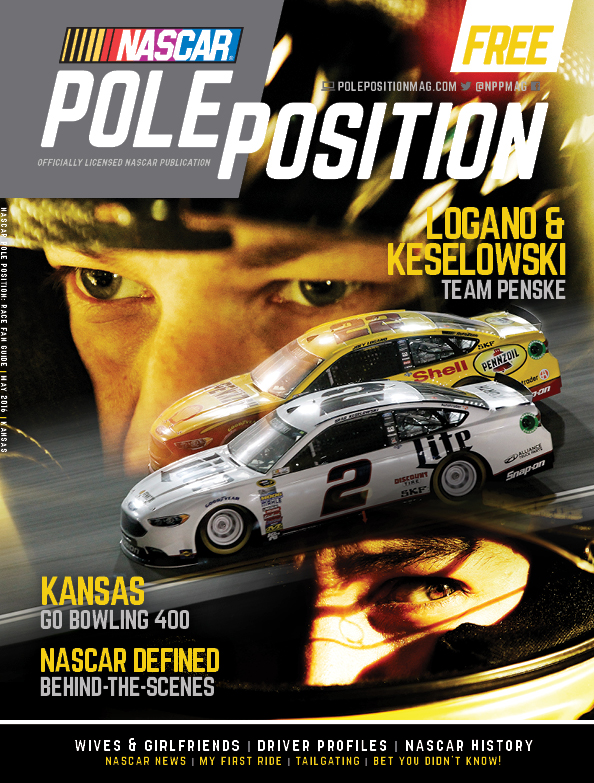 NASCAR Pole Position Kansas in May 2016