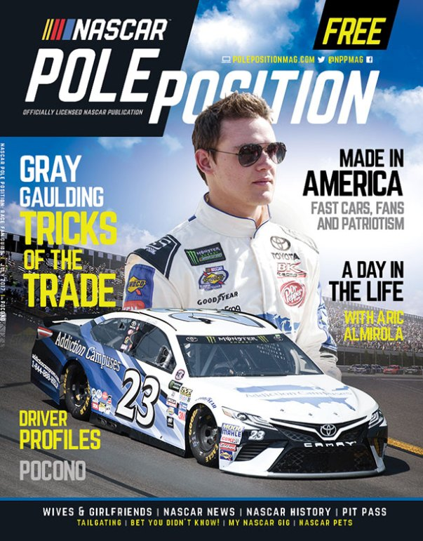 NASCAR Pole Position Pocono in July 2017