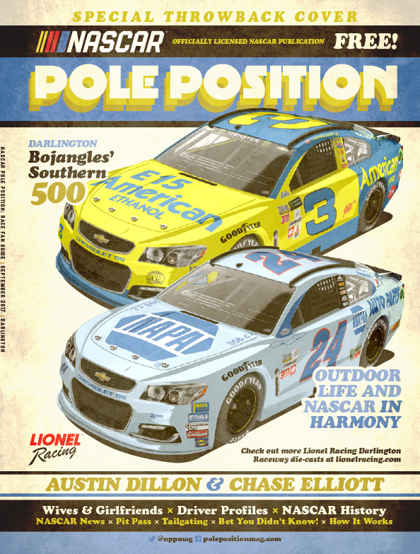 NASCAR Pole Position Darlington in September 2017