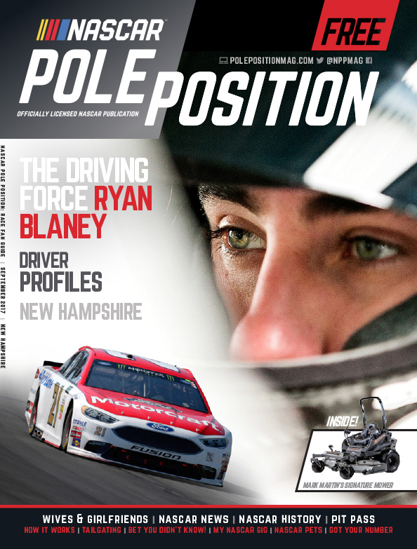 NASCAR Pole Position New Hampshire in September 2017