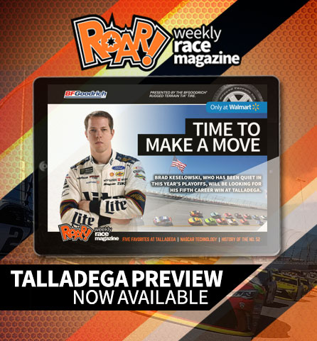 ROAR! Talladega Preview Edition