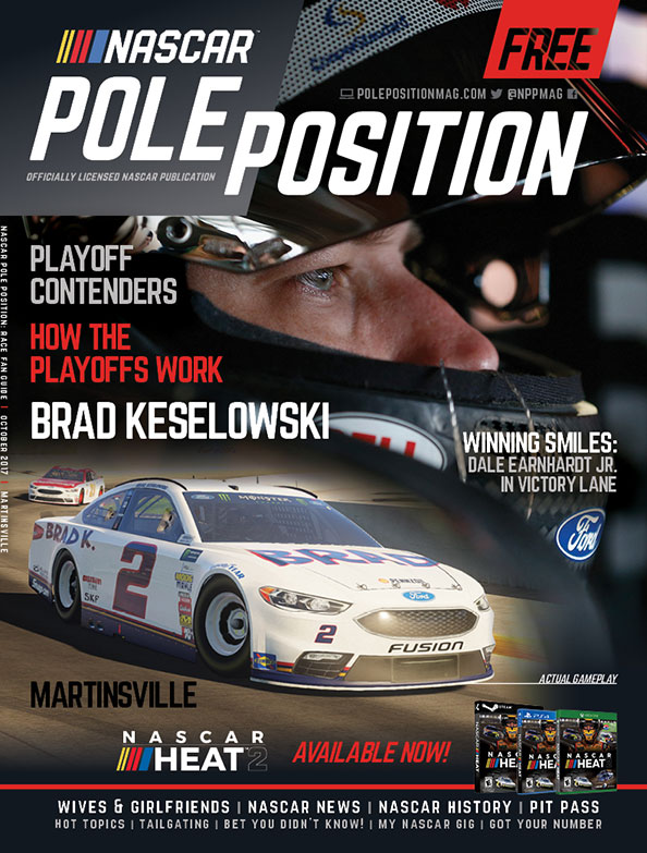 NASCAR Pole Position Martinsville in October 2017