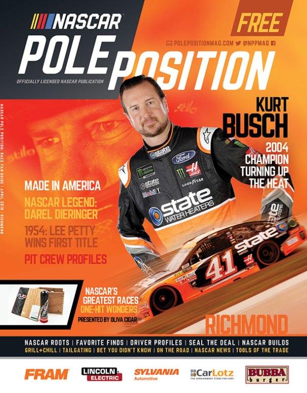 NASCAR Pole Position Richmond in April 2018