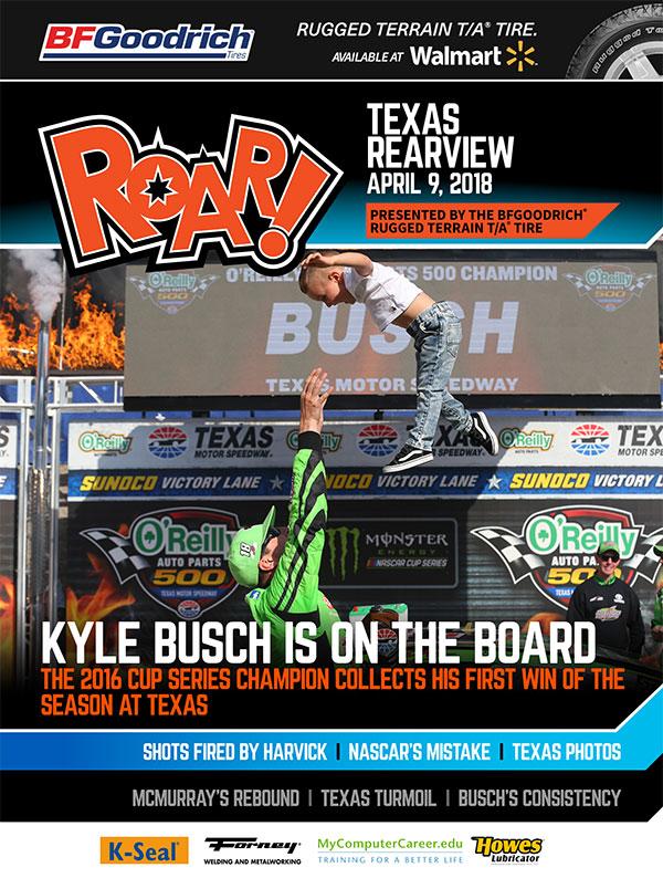 ROAR Texas Rearview April 2018