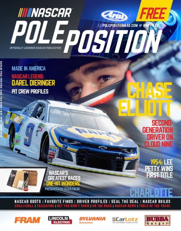 NASCAR Pole Position Charlotte May 2018