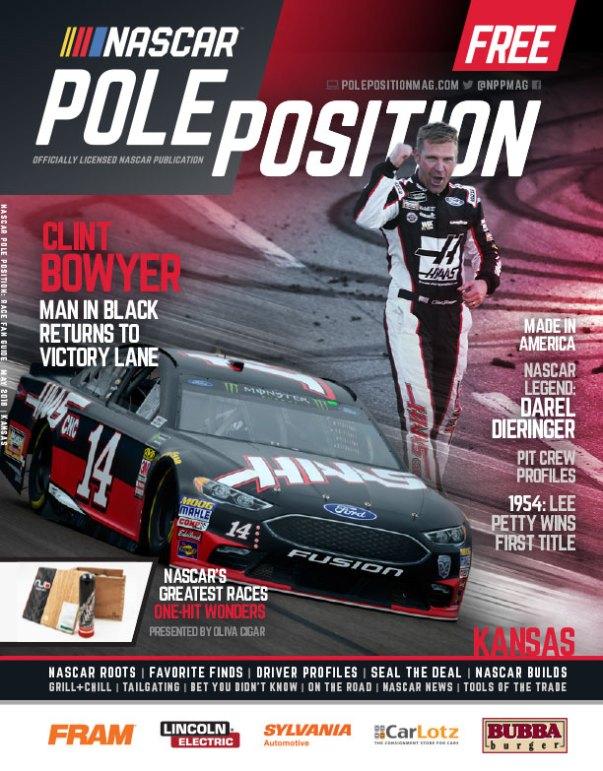 NASCAR Pole Position Kansas May 2018