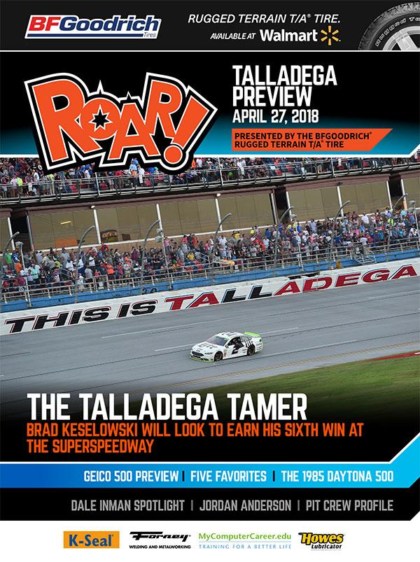 ROAR Talladega Preview April 2018