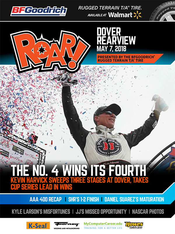 ROAR! Dover Race Weekend Rearview May 2018