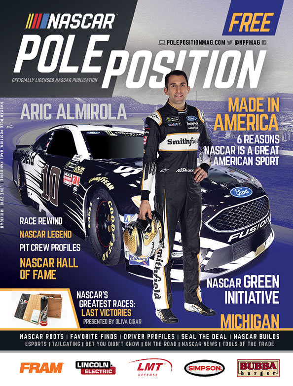NASCAR Pole Position Michigan in June 2018