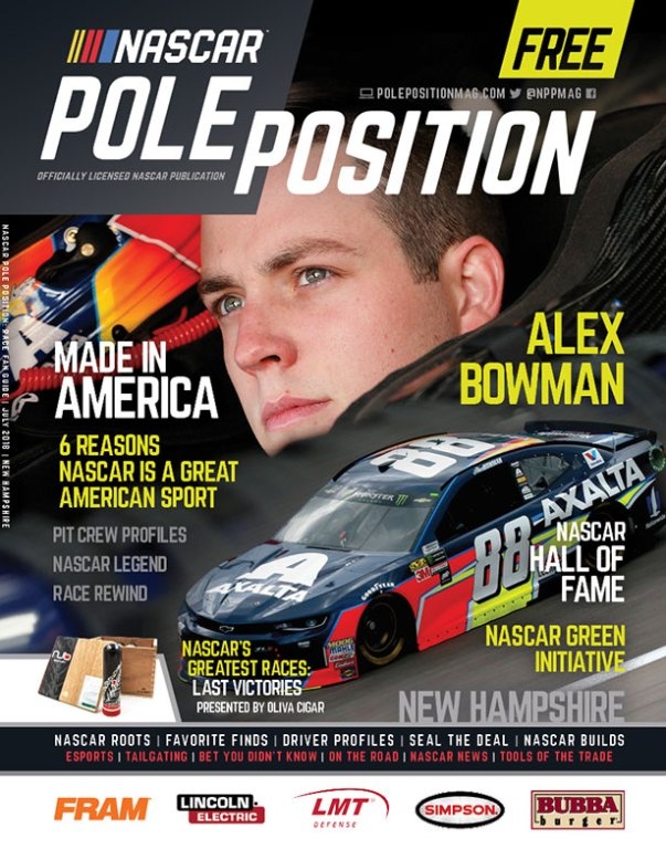 NASCAR Pole Position New Hampshire July 2018