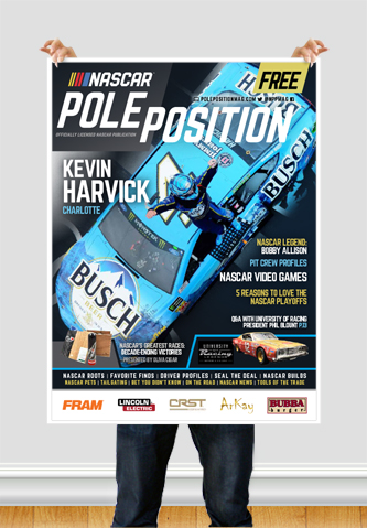 NASCAR Pole Position Charlotte September 2018